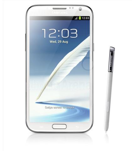 <data><vi>Samsung Note 2</vi></data>