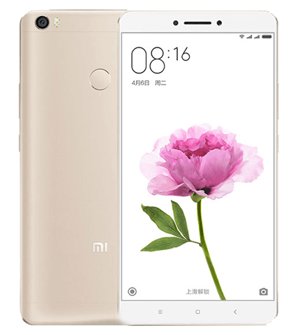 <data><vi>Xiaomi Mi Max Ram 3Gb Rom 32GB</vi></data>